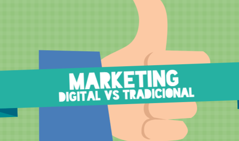 Marketing digital x tradicional